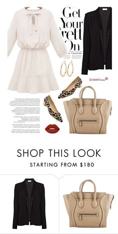 """""""Sammydress 23/4"""" by merima-kopic ❤ liked on Polyvore featuring American Vintage, CÉLINE, Lime Crime and sammydress"""