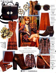 Dooney & Bourke Verona Mini Cristina featured in Harper's Bazaar