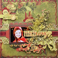 Kaisercraft - Twig & Berry Layout by Joanne Bain