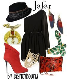 Female Jafar outfit