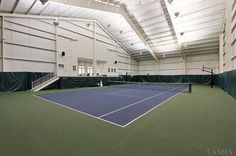 sweet indoor tennis court