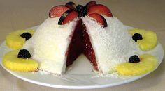 Meyveli (Vişneli) Sütlü Tatlı Tarifi - Çok hafif bir yaz tatlısı