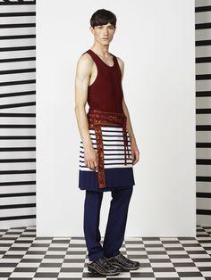 Jean Paul Gaultier Menswear Spring Summer 2015 Paris - NOWFASHION