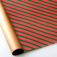 Pattern wrapping paper 10 set  xmas stripe by Harvard5f on Etsy, $10.90