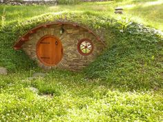 wine cellar or.............hobbit house? Tornado shelter??? whatever it is I like it...