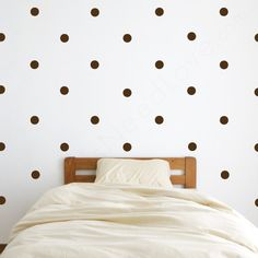 EEK! polka dot wall decals. so excited for these!