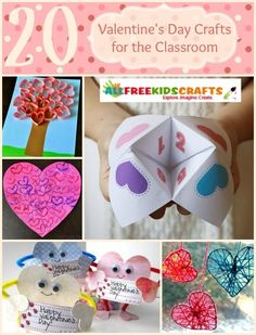 20 Valentine's Day Crafts for the Classroom