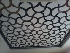 Laser Cutting Ceiling Location: PIK Material: Acrylic (incl installation)