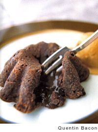 Molten Chocolate Cake.  These are so easy and so incredible!!!