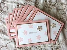 Stampin Up Geburtstagskarte mit Stempelset Petite Petals und Eins für alles