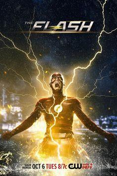 The Flash – Un poster fulminante per la stagione 2