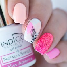 Easy Nail Art - Dry Brush Nails Made with Gel Polish