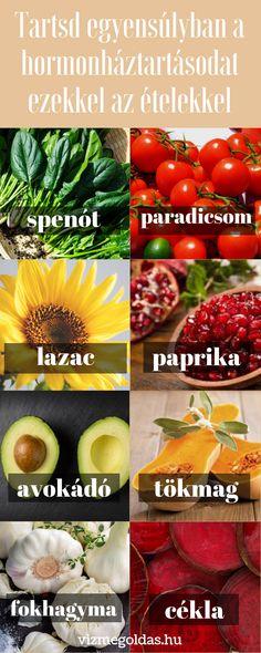 Egészséges étkezés - ételek, amelyek segítenek egyensúlyban tartani a hormonháztartást Healthy Life, Vegetables, Food, Healthy Living, Vegetable Recipes, Eten, Veggie Food, Meals, Veggies