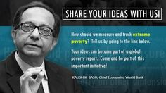 """""""Should we track #poverty on dimensions other than money? If so, which & how?"""" @kaushikcbasu http://wrld.bg/SzczA"""