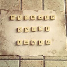 Plan de table Scrabble, Wedding Day, Pi Day Wedding, Wedding Anniversary