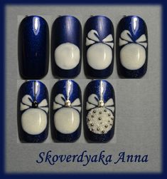 """Wow nails salon design I adore. Source by """" title=""""Wow nails salon design I adore. Wow nails salon design I adore. Source by """" title=""""Wow nails salon design I adore. Wow nails salon design I adore. Source by """" title=""""Wow nails salon design I adore. Xmas Nail Art, Xmas Nails, Christmas Nail Art Designs, Holiday Nails, Christmas Nails, Christmas Ornaments, Wow Nails, Cute Nails, Pretty Nails"""