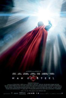 """Man of Steel - (Poster) 2013 - """"Excellent movie. Great special effects, stunts, and good performances. Michael Shannon is perfect as Zod. Enjoyed Amy Adams' Lois Lane--a great combination of vulnerability, strength and intelligence, not too heavy on the damsel in distress. Really enjoyed."""""""