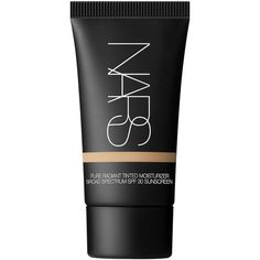Nars Pure Radiant Tinted Moisturizer (£13) ❤ liked on Polyvore featuring beauty products, makeup, face makeup, tinted moisturizer, alaska, nars cosmetics and oil free tinted moisturizer