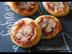 Pizzette snack da buffet, con video ricetta