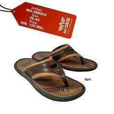 M-GEE Footwear MG-SERGIO Tan