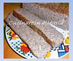 Pane con farine di legumi a pasta madre senza glutine