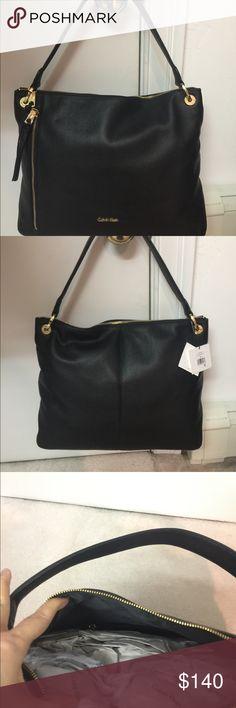 Brand New Calvin Klein Bag Big Beautiful Black Bag!!!!! Calvin Klein Bags Shoulder Bags