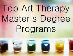 Wonderful comprehensive list of Art Therapy Master's Degree Programs. Art Therapy Projects, Therapy Ideas, Art Careers, Master Degree Programs, Creative Arts Therapy, Music Therapy, Play Therapy, Expressive Art, Alternative Therapies
