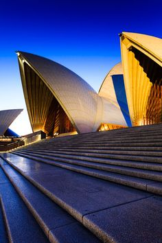 One of the 20th century's most iconic buildings and one of the most famous performing arts centres in the world, the Sydney Opera House.