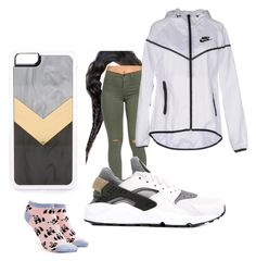 """""""Untitled #52"""" by faultbackgame2strong on Polyvore featuring Zero Gravity, NIKE and Forever 21"""