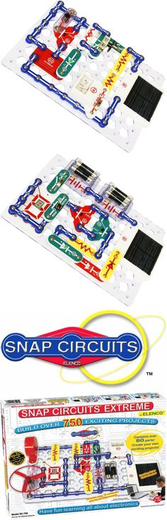 Electronics and Electricity 158698: Snap Circuits Extreme Sc-750 Electronics Discovery Kit -> BUY IT NOW ONLY: $114.55 on eBay!
