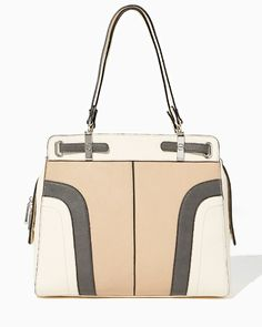 Waterfall Colorblock Tote | Charming Charlie