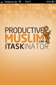 ProductiveMuslim itaskinator app is here!  Be sure the leave a comment on the site and email your feedback to productivemuslim@gmail.com.