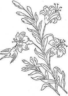1888 Ingalls Bird on Lillies | Flickr - Photo Sharing!