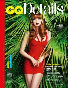Karen Gillan on the cover of GQ Magazine