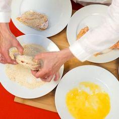 Cordon bleu : Recette de Cordon bleu - Marmiton Winter Food, Main Meals, Entrees, Food And Drink, Eggs, Bacon, Cooking, Breakfast, Robot
