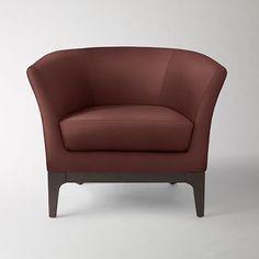 Tulip Chair #westelm in velvet moss/linen weave timber/heather grey or mink microfiber