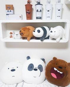 Bear Wallpaper, Cartoon Wallpaper, Choses Cool, We Bare Bears Wallpapers, Bear Decor, We Bear, Home Goods Decor, Gamer Room, Handmade Christmas Gifts