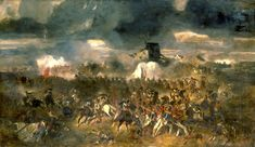 """The Battle of Waterloo """"La bataille de Waterloo"""" by Clément-Auguste Andrieux Waterloo 1815, Battle Of Waterloo, Waterloo Belgium, History Class, World History, History Online, Timeline Maker, First French Empire, Hundred Days"""