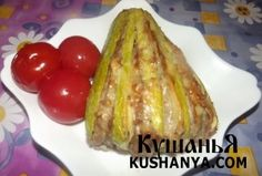 Кабачок «Веер» | Kushanya.Com Baked Potato, French Toast, Cooking Recipes, Baking, Breakfast, Ethnic Recipes, Food, Morning Coffee, Bakken
