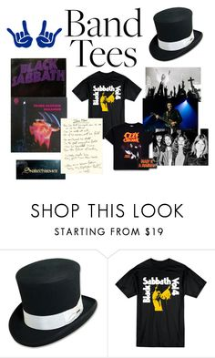 """Black Sabbath"" by chauert ❤ liked on Polyvore featuring Veja and bandtees"