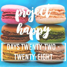 Project Happy: Days 22-28.