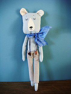 Darling Teddy Bear ~ Rose minuscule: janvier 2012