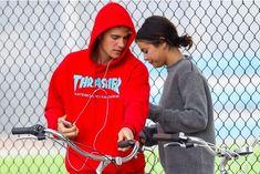 Justin Bieber et Selena Gomez, le 1er novembre 2017 à Los Angeles