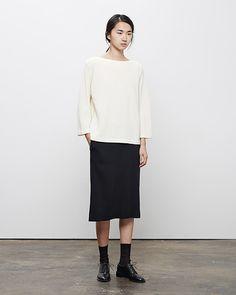 La Garçonne Moderne Vintage Boatneck and Moderne Gallery Skirt