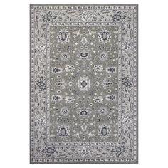 KAS Oriental Rugs Pesha 7206 Taupe/Grey Agra - PES7206710X710RO