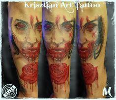 blood rose - Krisztian Art Tattoo