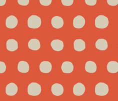 addicted to fabric on spoonflower.com.  good ideas for crib sheets!  Jumbo_dots_in_tangerine_and_khaki__shop_preview