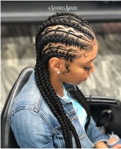 Amazing and Artistic Braided Hairstyles for Black Girl for Upcoming New Year 2019 30 Beautiful Fishbone Braid Hairstyles for Black Women Of 98 Amazing Amazing and Artistic Braided Hairstyles for Black Girl for Upcoming New Year 2019 Cornrows Braids For Black Women, Braided Hairstyles For Black Women, Black Girl Braids, African Braids Hairstyles, Braids For Black Hair, Girls Braids, Diy Hairstyles, Braids Cornrows, Protective Hairstyles