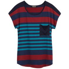 Papermoon Shippley Pocket Knit Tee. This is great because I love everything with stripes. I would wear this to work with a great pair of slacks or even on casual Friday's.
