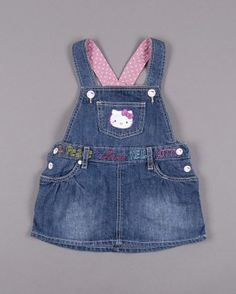 Toddler Girl Style, Toddler Dress, Toddler Outfits, Girl Outfits, Baby Jeans, Girls Jeans, Baby Girl Dresses, Baby Dress, Dungarees Outfits